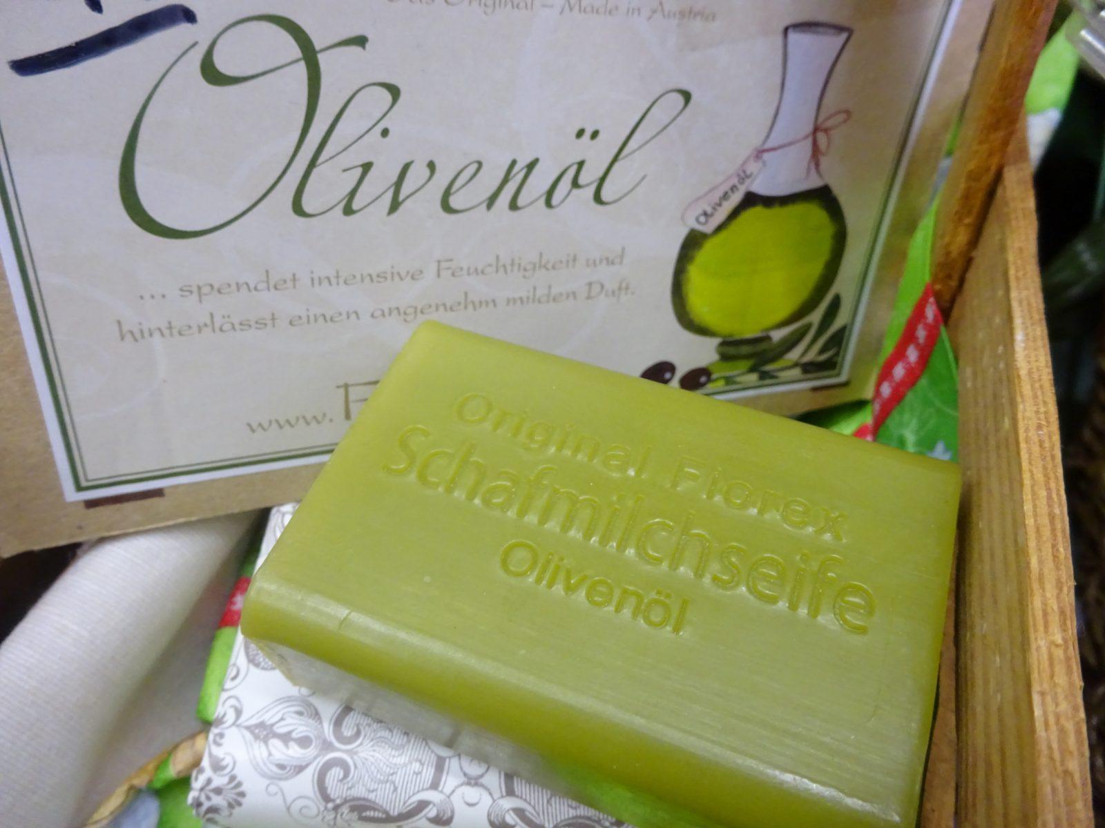 Olivenölseife von Florex mit Lanolin
